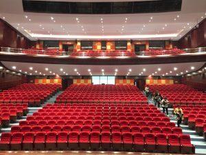 Inštalácia RAM Audio v Čínskom divadle